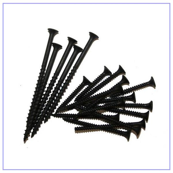 Саморез черный 35 мм для крепления гипсокартона к профилю
